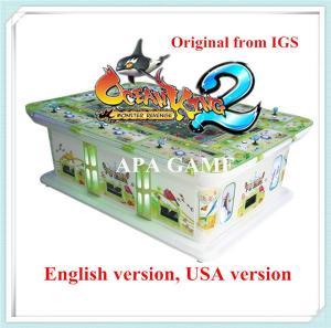 Quality 8P ocean king 2 monster revenge igs original software arcade fish season arcade game machine for sale