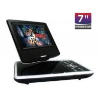 Quality Beautiful Cheap Mini 7 inch Portable DVD Player with Rechargable Li Battery for sale