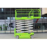 China 12m Mobile Scissor Lift Elevating Working Platform for Port and Warehouse Maintenance on sale