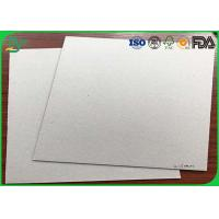 Quality Notebook Covers Fluting Medium Paper , 300Gsm - 700gsm Grey Back Duplex Board for sale