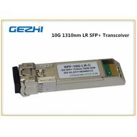 Quality 10km LR DDM 10G SFP+ Transceiver , LC optical fiber transceiver Compatible Cisco SFP-10G-LR for sale