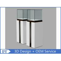 Quality OEM Fashion Practical Jewelry Display Cases For Trade Shows Semi - gloss White for sale