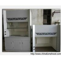 Quality Corrosion Resistance FRP Fume Hood , 12.7MM Worktop Chemical Ventilation Hoods for sale