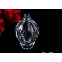 Quality 100ml Clear Car Carrying Refillable Empty Glass Perfume Bottle for sale