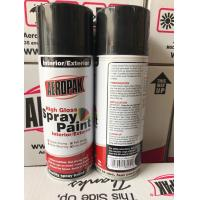 Buy Anti Scratch Aerosol Spray Paint Odourless 400ml Car Spray Paint Cans at wholesale prices