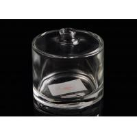 Hot sell popular shape clear unique glass perfume bottles for home decor