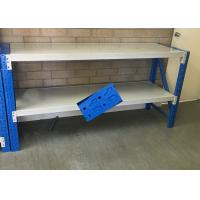 Quality Low Carbon Rolled Steel Heavy Duty Storage Shelves For Garage 500-2000KG Capacity for sale