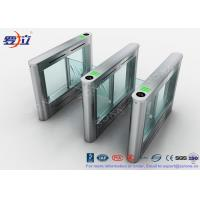 China 304 Stainless Steel Card Read Swing Arm Barriers Security Pedestrian Control System on sale