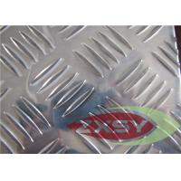 Buy Custom Size Clean Embossing Alumiinum Sheet , Diamond Plate Sheets at wholesale prices
