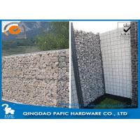 Quality Iron Wire Steel Gabion Baskets , φ4,5mm Wire Cages For Landscaping for sale