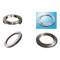 Quality Single Row Slewing Ring Bearings With Four Point Contact Ball Bearing External Gear for sale