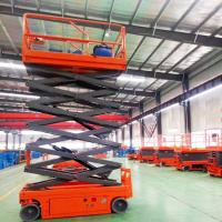 Buy cheap High Strength Movable Scissor Lift Extendable Scissor Lift Small Platform from wholesalers