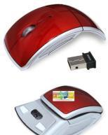 Quality Wireless Arc Mouse With 2.4Ghz Antenna for sale
