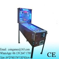 Buy 5 Balls, Amusement Equipment Coin Operated Casino Gambling Arcade Games Pinball Machine at wholesale prices