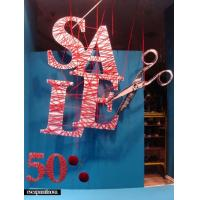 Quality Shopping Window decoration|Window Display| Display Sign|Display floor| for sale