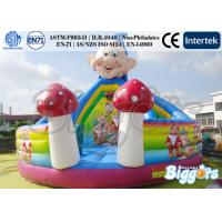 Quality Seven Dwarfs Inflatable Bouncer Commercial With Slide PVC Playground for sale