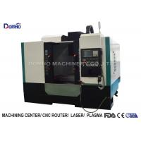 Quality ISO Small Cnc Milling Machine For Machining Metal Castings Plumbing Fittings Products for sale
