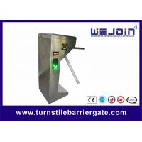 China Stainless Steel Automatic Tripod Turnstile Barrier Gate For Bus Station on sale