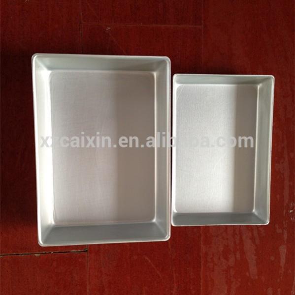 aluminum fast freezing frame