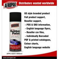 Quality Portable Red Car Aerosol Spray Paints , Abrasion Resistant And Flexible for sale