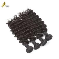 Quality Virgin Hair Deep Wave Bundles Human Hair Extension 3 Bundles Longest Hair for sale