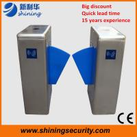 Quality OEM Subway turnstile Flap Barrier Gate , Turnstile Security Products for sale
