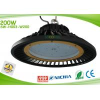 Quality Round Shape 200w Led Industrial Lighting Fixtures AC90-305v High Efficiency for sale