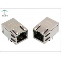 Buy R / A 1000 Base - T Integrated Magnetics RJ45 , Ethernet Lan RJ45 Connector at wholesale prices