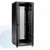 Quality Indoor 22U Home Network Rack Cabinet Vented IP20 In RAL 9004 for sale