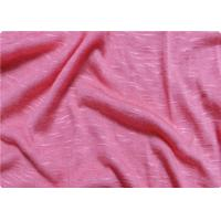 Quality Pink / White Viscose Fabric Furniture Upholstery Fabric For Sportswear for sale