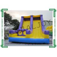 China Obstacle Entrance Inflatable Slide , Inflatable Slip n Slides High Strength on sale