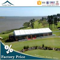 Buy cheap A Frame Large Canopy Glass Wall Tents With Aluminum For Wedding And Church from wholesalers