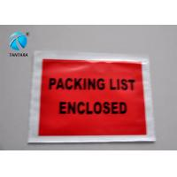 Quality Peal and Seal Packing List  envelope enclosed , Poly Mailing Bags for sale