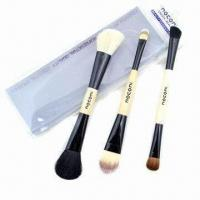 Quality Cosmetic Brush Set with Wooden Handle for sale