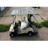 Quality Pure Electric 3KW DC Motor Electric Golf Car For 2 Persons With Solar Panel for sale