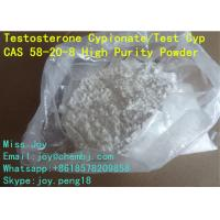 Quality USP Testosterone Cypionate Powder CAS 58-20-8 Test Cyp 250mg/ml for sale