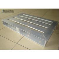 Quality Light Weight Slatted Aluminum Pallets For Storage / Warehouse , Aluminum Extrusion Profile for sale