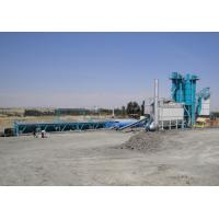 Quality 80T Hot Aggregate Silo Asphalt Plant With 300000 Batches Mixing Blade Life Time for sale