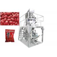 Quality Automatic 2 - 10 Multihead Weigher Packing Machine For Apple Ring / Dates / Pistachio Nut for sale