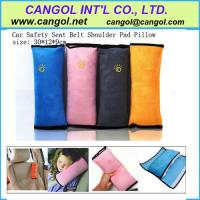 China Car Safety Seat Belt Shoulder Pad Pillow for Children on sale