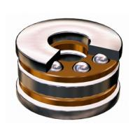 Quality Thrust Ball Bearing With Raceway 708744, 8746 For Axial Load in One Direction for sale