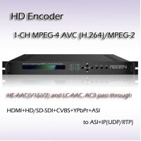 China Single-Channel MPEG-2/H.264 SD/HD Encoder Built-in PCR capability CVBS SDI HDMI Input interface on sale