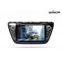 Quality Android 6.0 Car DVD GPS Navigation for SUZUKI CROSS 2014 Audio / Rearview Camera for sale