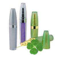 Quality empty 10ml 15ml  slim  plastic cosmetic airless bottle for sale