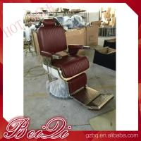 Quality Luxury hair salon furniture barber styling units reclining hairdressing chair for sale for sale