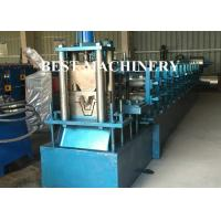 Quality Steel Profile Hat Purlin Roll Forming Machine PLC Control Length for sale