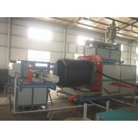 Quality Automatic Pipe Production Line HDPE Large Dimeter with touch screen for sale