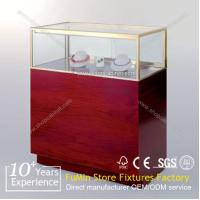 Quality glass jewelry and watch display Cabinet for sale