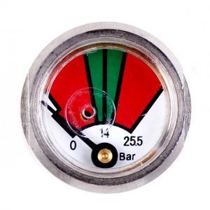 Quality Chrome Plated Fire Extinguisher Gauge Diaphragm Pressure Gauges JQ0808 for sale