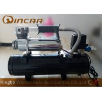 Quality 1.8CFM 12V Portable Air Compressor For Car With 8L Tank CE Approved for sale